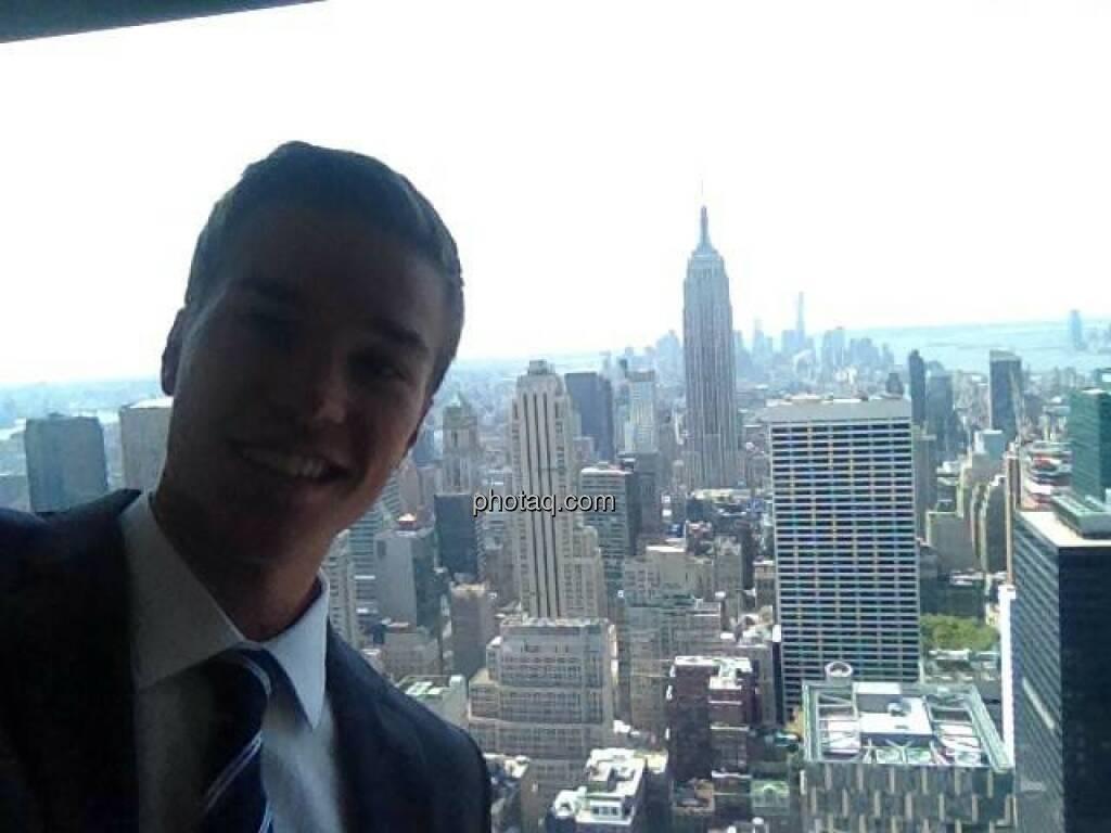 New York, Manhattan An diese Aussicht am Arbeitsplatz könnte man sich gewöhnen! Atemberaubend , © Gerald Pollak (12.08.2014)