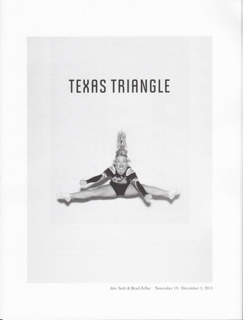 Alec Soth and Brad Zellar - LBM Dispatch #6: Texas Triangle, LBM, 2014, Cover - http://josefchladek.com/book/alec_soth_and_brad_zellar_-_lbm_dispatch_6_texas_triangle, © (c) josefchladek.com (12.08.2014)