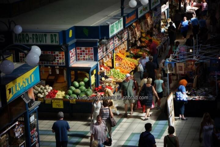 Ungarn Budapest Markt
