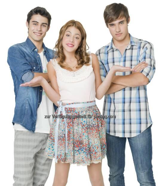 Disney Channel: Erfolgs-Telenovela Violetta wird ab 29. September fortgesetzt, immer Mo-Fr um 19.30 Uhr, © Aussendung (13.08.2014)
