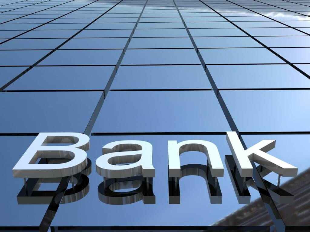Bank, neutral, Banken http://www.shutterstock.com/de/pic-132914387/stock-photo-bank-building-d-images.html, © www.shutterstock.com (29.05.2017)