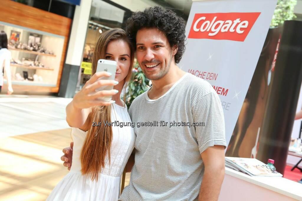 Colgate Selfie, © Katharina Schiffl (14.08.2014)