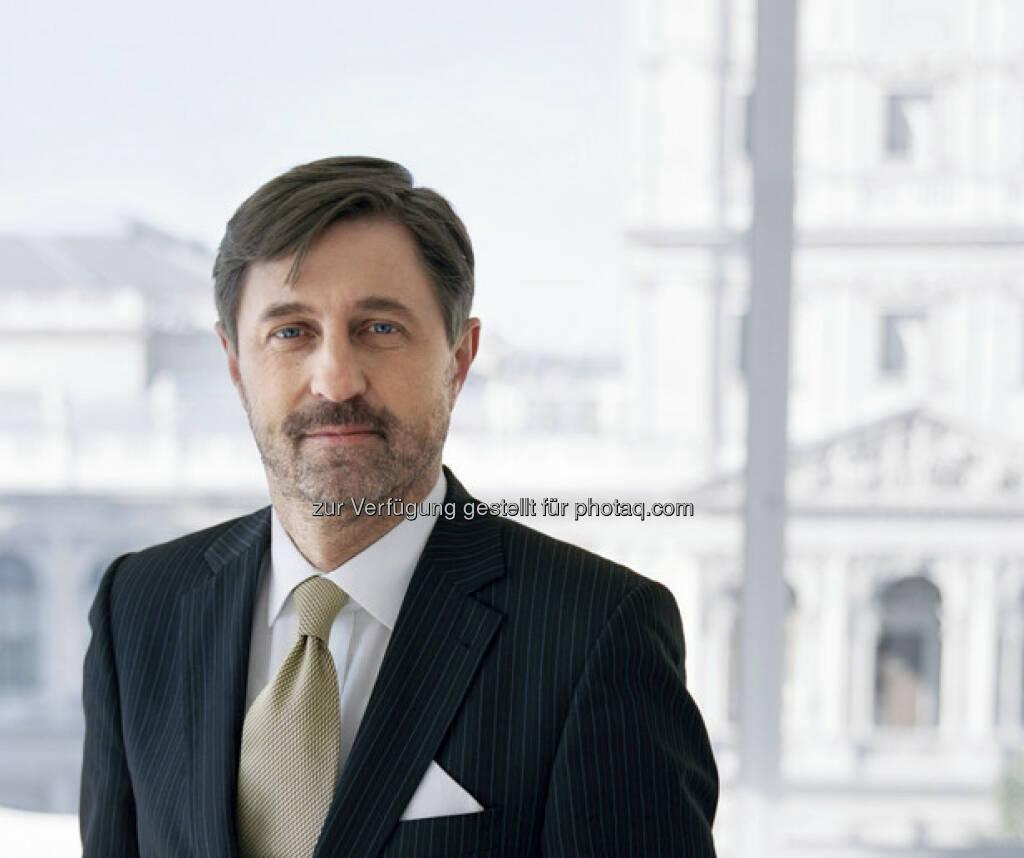 Bruno Ettenauer, CEO CA Immo: Nach Jahren des starken Wachstums in Deutschland und Osteuropa konzentriert CA Immo ihr Immobilienportfolio auf bestehende Kernmärkte und die Assetklasse Büro (c) CA Immo (17.01.2013)