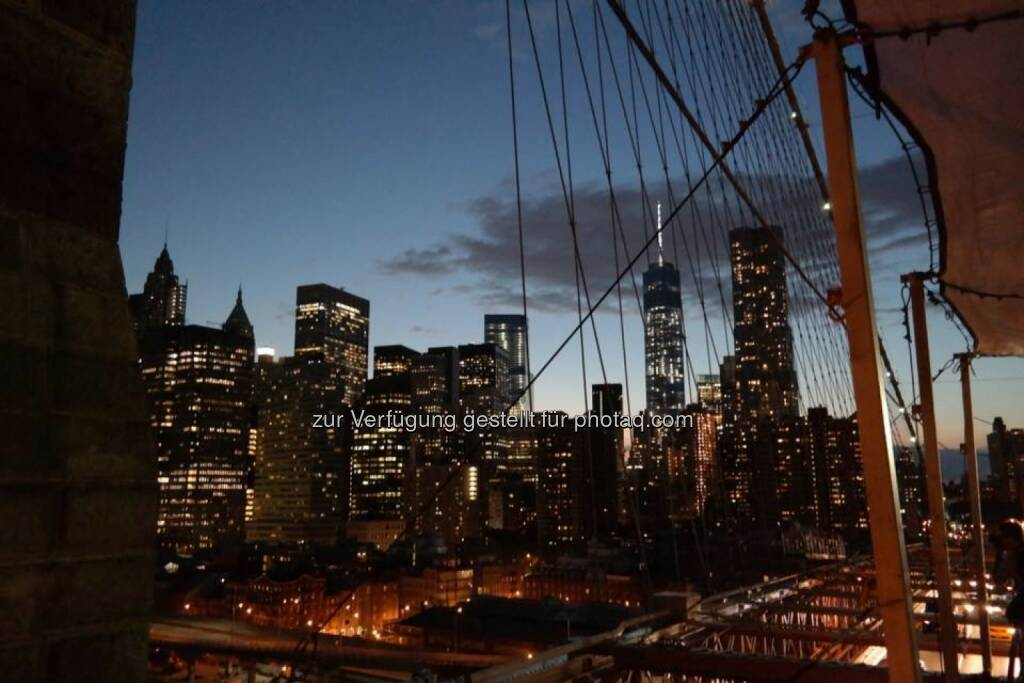 New York Manhattan bei Nacht, © Gerald Pollak (17.08.2014)