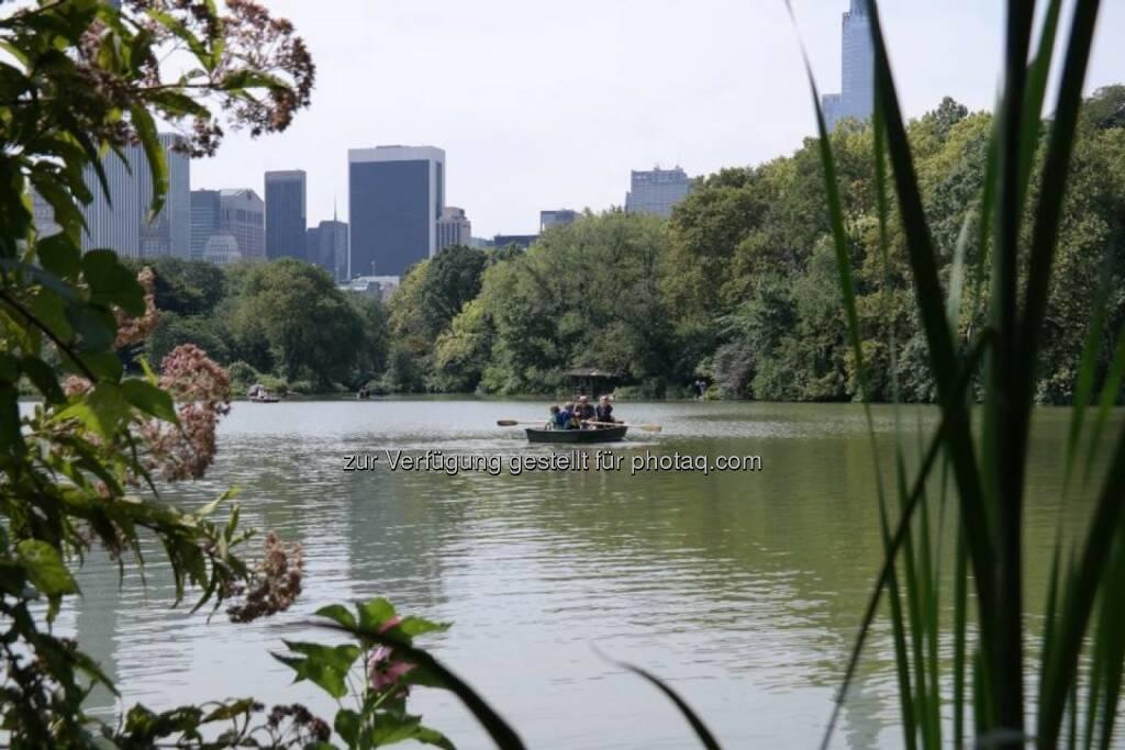 Central Park Lake, © Gerald Pollak (17.08.2014)