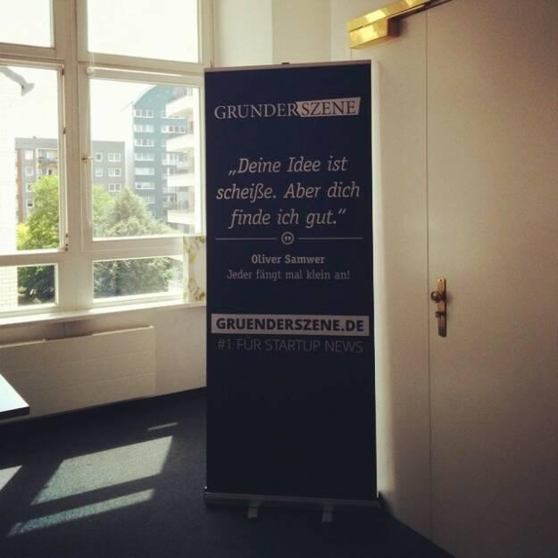 Gründerszene.de, © Elisabeth Oberndorfer (17.08.2014)