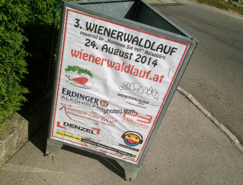 3. Wienerwaldlauf, Runplugged unter den Partnern (18.08.2014)