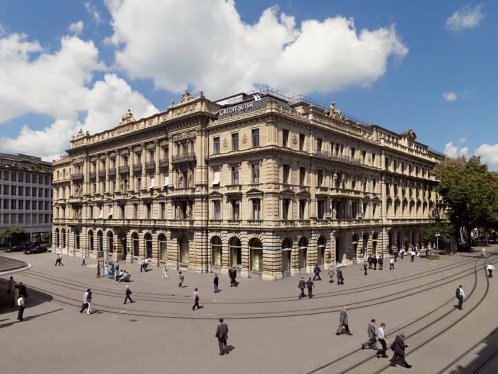 Credit Suisse Group - Headquarters, Paradeplatz, Zürich (Bild: Credit Suisse)