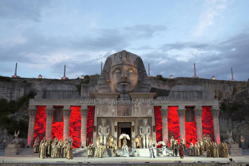 Esterhazy Privatstiftung: Dornhelms Aida als großer Publikumserfolg - 128.500 Besucher im Steinbruch (c) Armin Bardel (19.08.2014)
