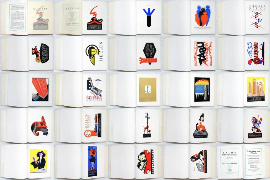 Julius Wisotzki - Poster Art in Vienna, Chwala, 1923, Beispielseiten, sample spreads - http://josefchladek.com/book/julius_wisotzki_-_poster_art_in_vienna_klinger_willrab_cosl-frey_haas_engelberg_and_schwarcz, © (c) josefchladek.com (20.08.2014)