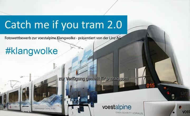 voestalpine Strassenbahn: Wer ist dieses Wochenende in Linz unterwegs? Foto von der Straßenbahn zur voestalpine Klangwolke machen und auf Instagram oder Twitter mit #klangwolke teilen. Alle Infos zum #Fotowettbewerb:  http://bit.ly/Xn0Fys  Source: http://facebook.com/voestalpine