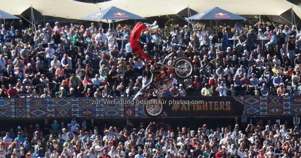 Red Bull X-Fighters Freestyle Motocross World Tour 2014 in Pretoria, Südafrika, © Gerald Pollak (24.08.2014)