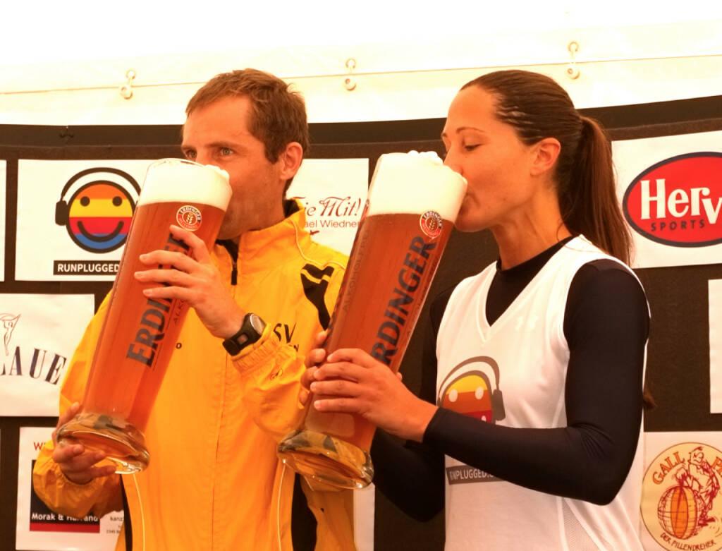 Trinken, Durst: Wolfgang Pucher, Monika Kalbacher Runplugged (24.08.2014)