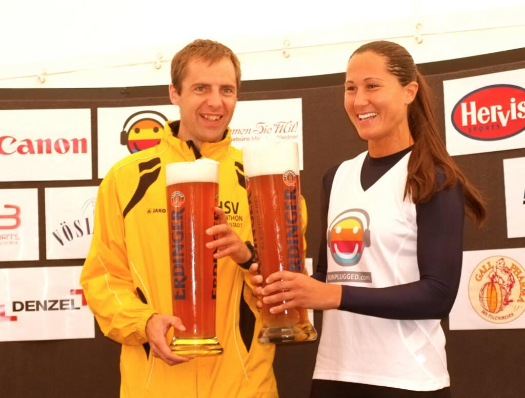 Prost Erdinger: Wolfgang Pucher, Monika Kalbacher Runplugged (24.08.2014)