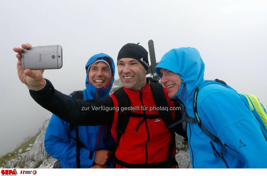 Sebastian Haboeck, Christoph Stadler und Tobias Grafe. (Photo: GEPA pictures/ Markus Oberlaender) (26.08.2014)