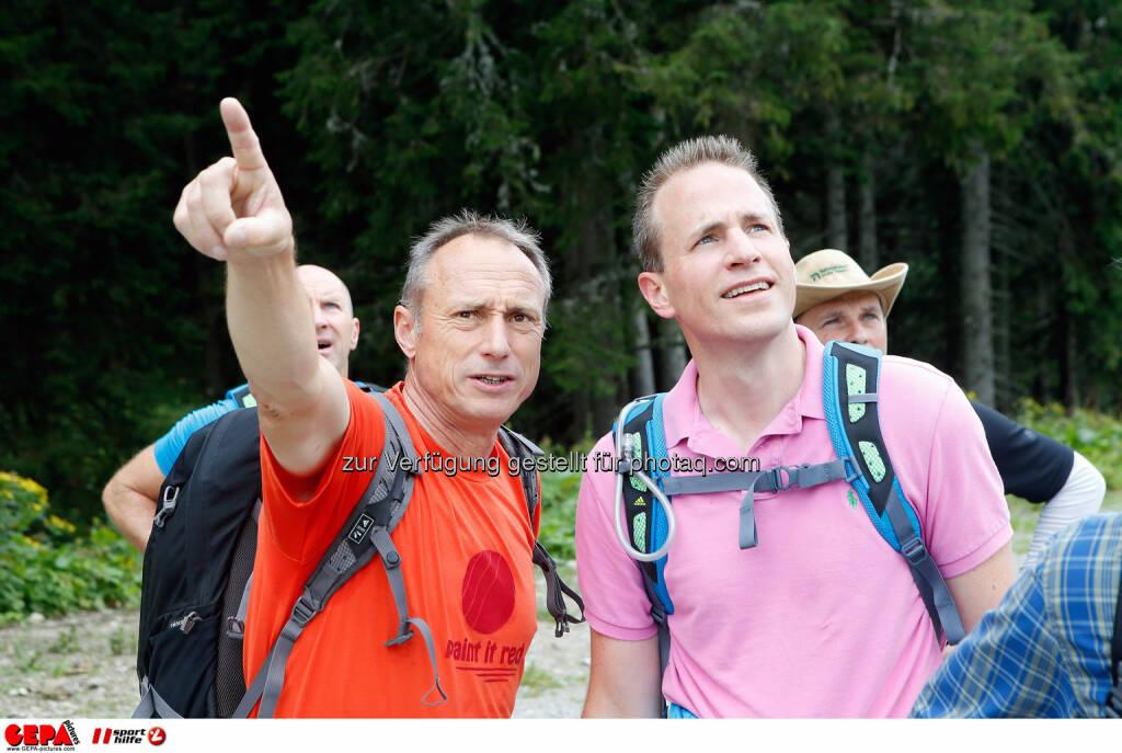 Toni Schutti und Tobias Grafe. (Photo: GEPA pictures/ Markus Oberlaender) (26.08.2014)