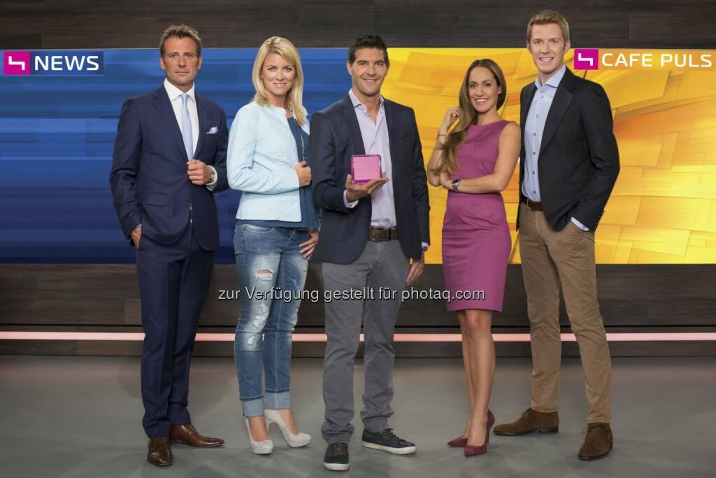 Volker Piesczek, Sabine Mord, Norbert Oberhauser, Bianca Schwarzjirg und Florian Danner (Bild: Markus Morianz) (26.08.2014)