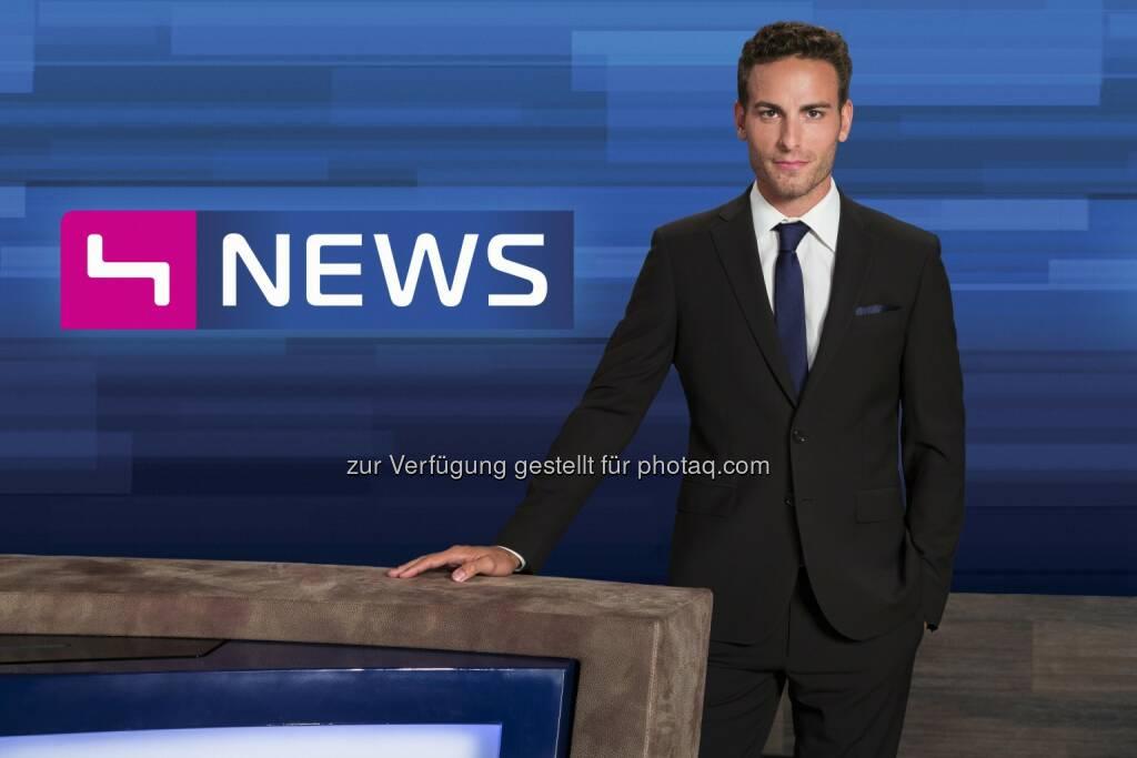 Fabian Kissler, Puls 4 News (Bild: Markus Morianz) (26.08.2014)
