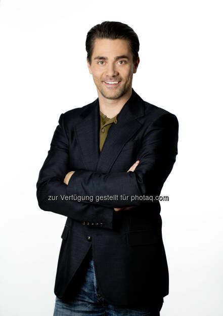 Andreas Seidl, Café Puls Moderator (Bild: Gerry Frank) (26.08.2014)
