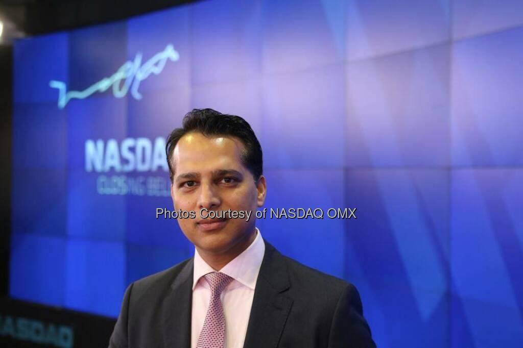 Sysorex rings the NASDAQ Closing Bell  Source: http://facebook.com/NASDAQ (27.08.2014)