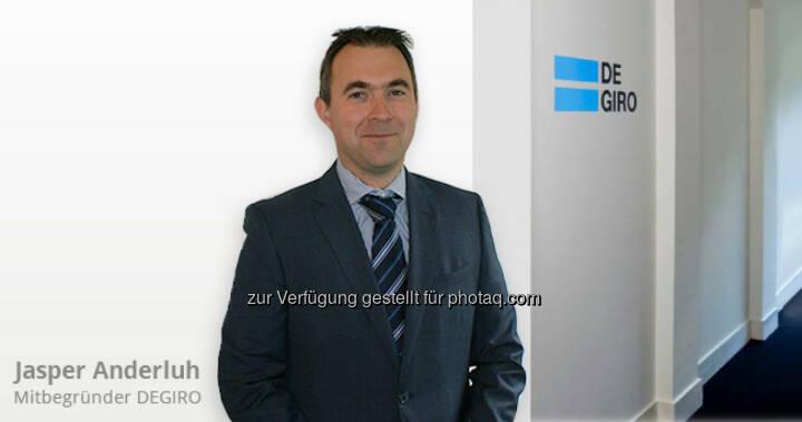 Jasper Anderluh startet mit seiner Brokerage unter degiro.at nun auch in Österreich