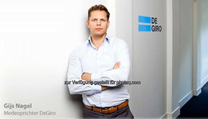 Gijs Nagel startet mit seiner Brokerage unter degiro.at nun auch in Österreich
