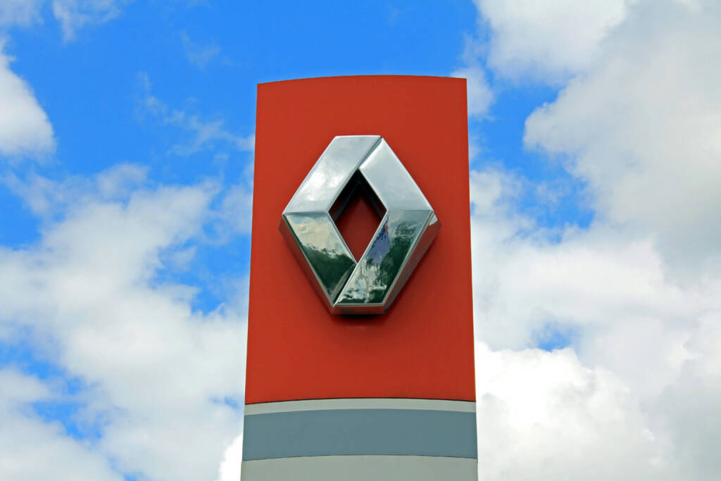Renault, Logo, Auto, <a href=http://www.shutterstock.com/gallery-576805p1.html?cr=00&pl=edit-00>Taina Sohlman</a> / <a href=http://www.shutterstock.com/editorial?cr=00&pl=edit-00>Shutterstock.com</a>, Taina Sohlman / Shutterstock.com, © www.shutterstock.com (28.08.2014)