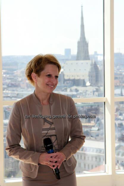 Judit Havasi (Generaldirektor-Stellvertreterin der Wiener Städtischen), © Wiener Städtische/Gustav Kersche (29.08.2014)