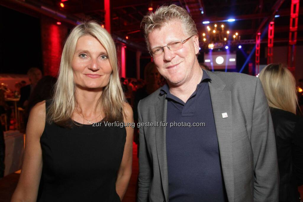 Martina und Peter Aigner, ©  ORF-Enterprise/Günther Pichlkostner (30.08.2014)