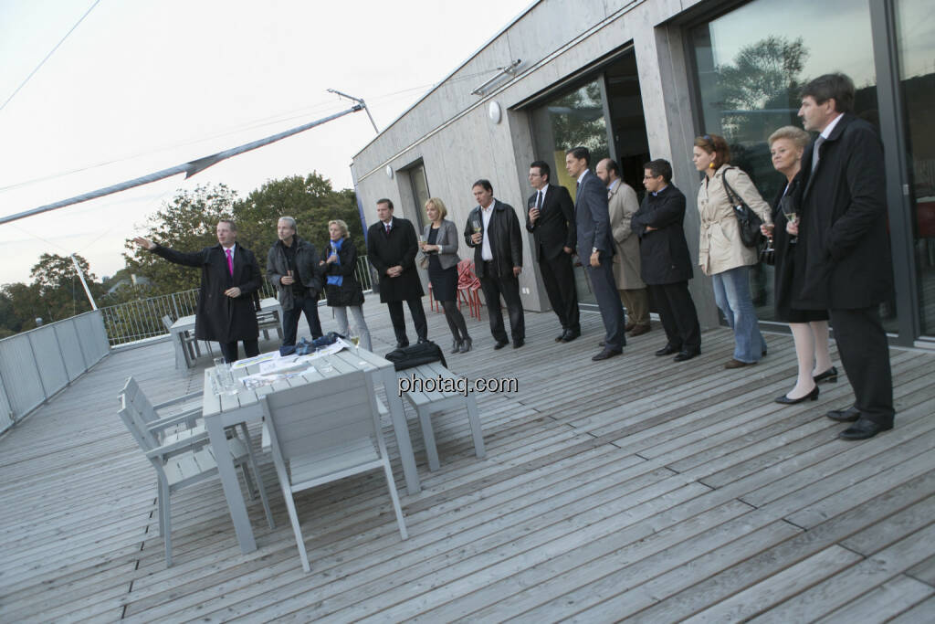 25 Jahre S Immo, Terrasse, © Martina Draper (15.12.2012)