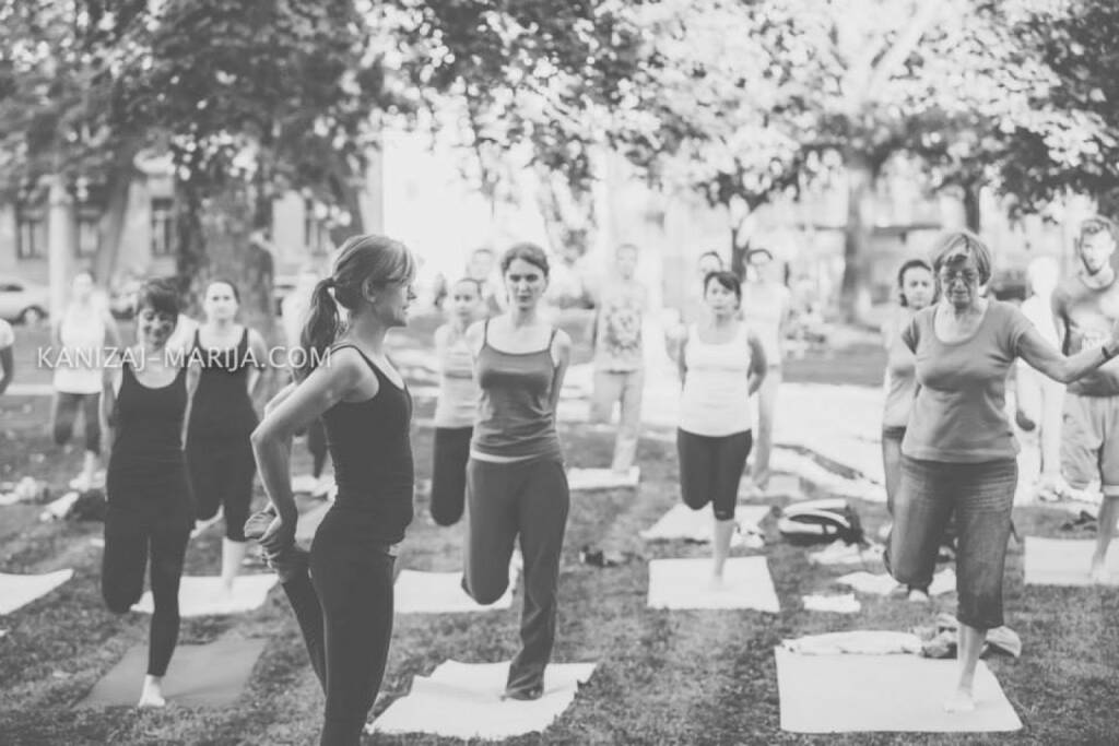 Monika Kletzmayr, Yoga, Dehnen, © Marija Kanizaj (30.08.2014)