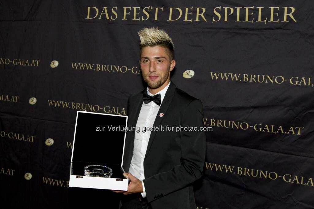 Kevin Kampl (FC Red Bull Salzburg)  Spieler der Saison (Bild: Bildagentur Zolles/ Martin Steiger) (31.08.2014)