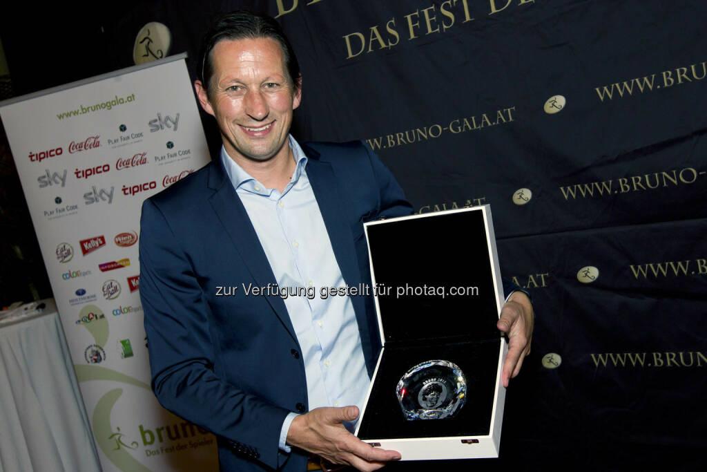 Roger Schmidt (FC Red Bull Salzburg) Trainer der Saison (Bild: Bildagentur Zolles/ Martin Steiger) (31.08.2014)