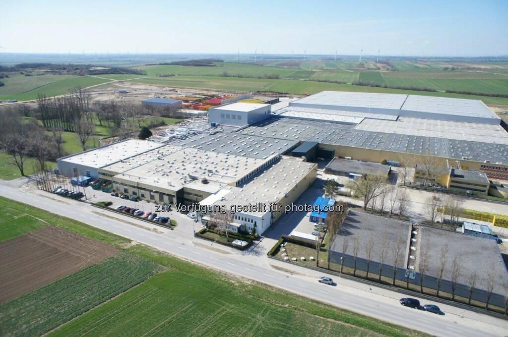 Produktionsanlage in Edelstal (Bild: Coca-Cola Hellenic) (01.09.2014)