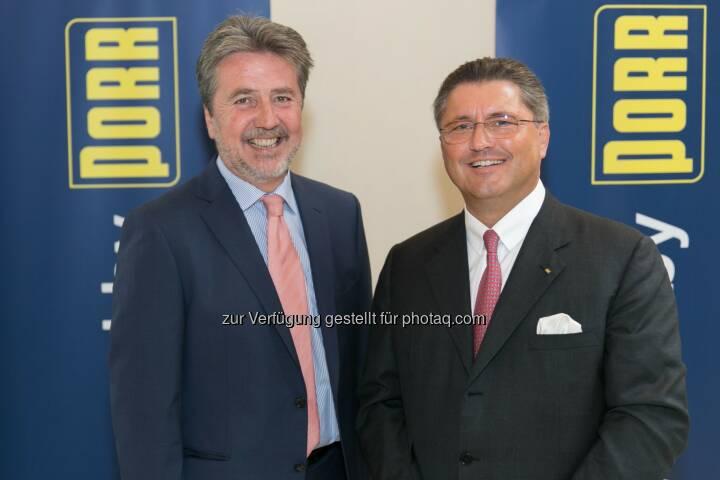 UBM Realitätenentwicklung AG: Karl Bier, CEO; Porr AG: Karl-Heinz Strauss, CEO: Halbjahresbilanz 2014: Porr steigert Gewinn deutlich