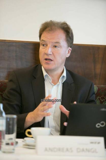 Andreas Dangl (Vorstandsvorsitzender W.E.B Windenergie AG), © Martina Draper/photaq (02.09.2014)