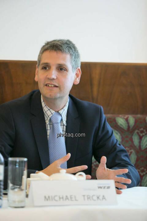 Michael Trcka (Vorstand W.E.B Windenergie AG)