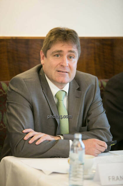 Frank Dumeier (Vorstand W.E.B Windenergie AG), © Martina Draper/photaq (02.09.2014)