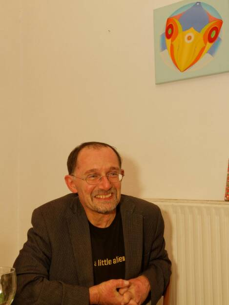 Verleger Michael Baiculescu, Mandelbaumverlag , © Franz Josef Galuschka (02.09.2014)