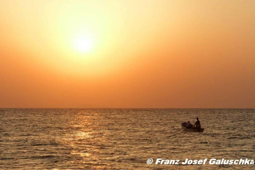 Meer, Sonnenuntergang, Oman, © Franz Josef Galuschka (02.09.2014)