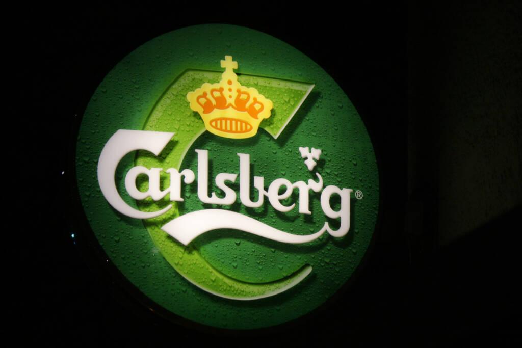 Carlsberg, Logo <a href=http://www.shutterstock.com/gallery-320989p1.html?cr=00&pl=edit-00>360b</a> / <a href=http://www.shutterstock.com/editorial?cr=00&pl=edit-00>Shutterstock.com</a>, © www.shutterstock.com (03.09.2014)
