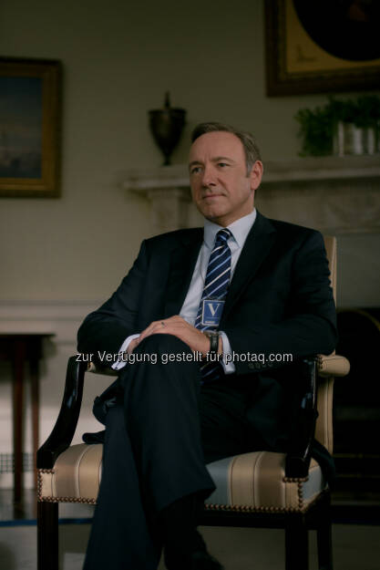 Kevin Spacey als Francis Frank J. Underwood, House of Cards: Season 2, © 2014 MRC II Distribution Company L.P. All Rights Reserved (03.09.2014)