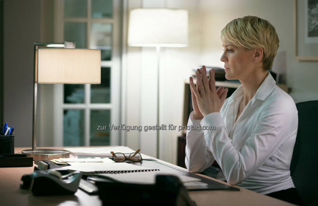 Robin Wright als Claire Underwood, House of Cards: Season 2, © 2014 MRC II Distribution Company L.P. All Rights Reserved (03.09.2014)