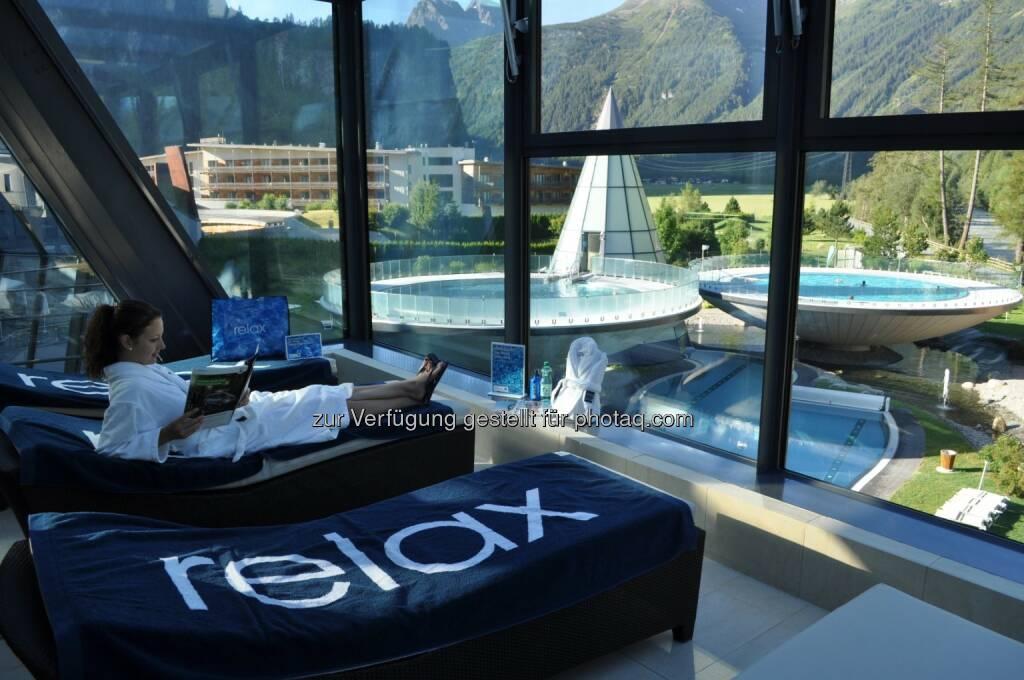 Vamed Vitality World: 1 Jahr Relax! Tagesurlaub - Vamed Vitality World zieht erfolgreich Bilanz und erweitert ihr Angebot , © Aussendung checkfelix (03.09.2014)