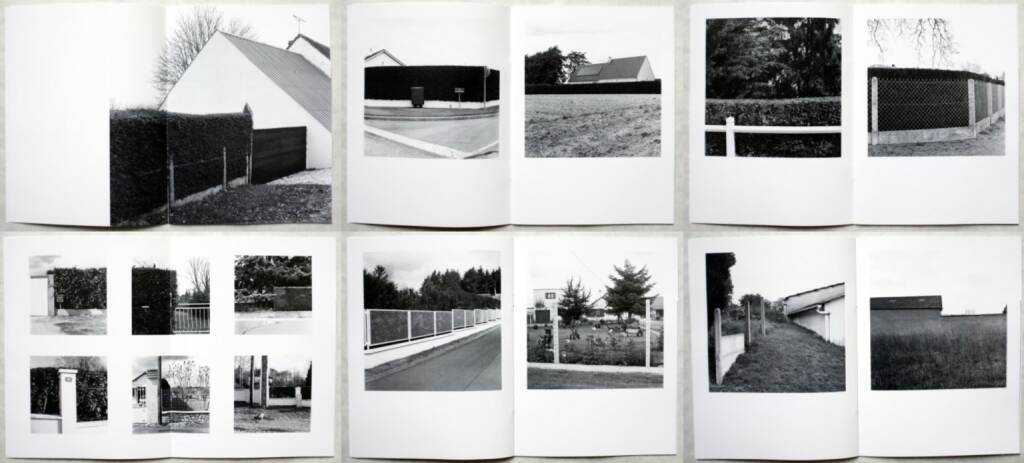Christophe Le Toquin - Éléments d'une typologie Vol #5, Self published, 2014, Beispielseiten, sample spreads - http://bit.ly/1qyCRBD, © (c) josefchladek.com (03.09.2014)