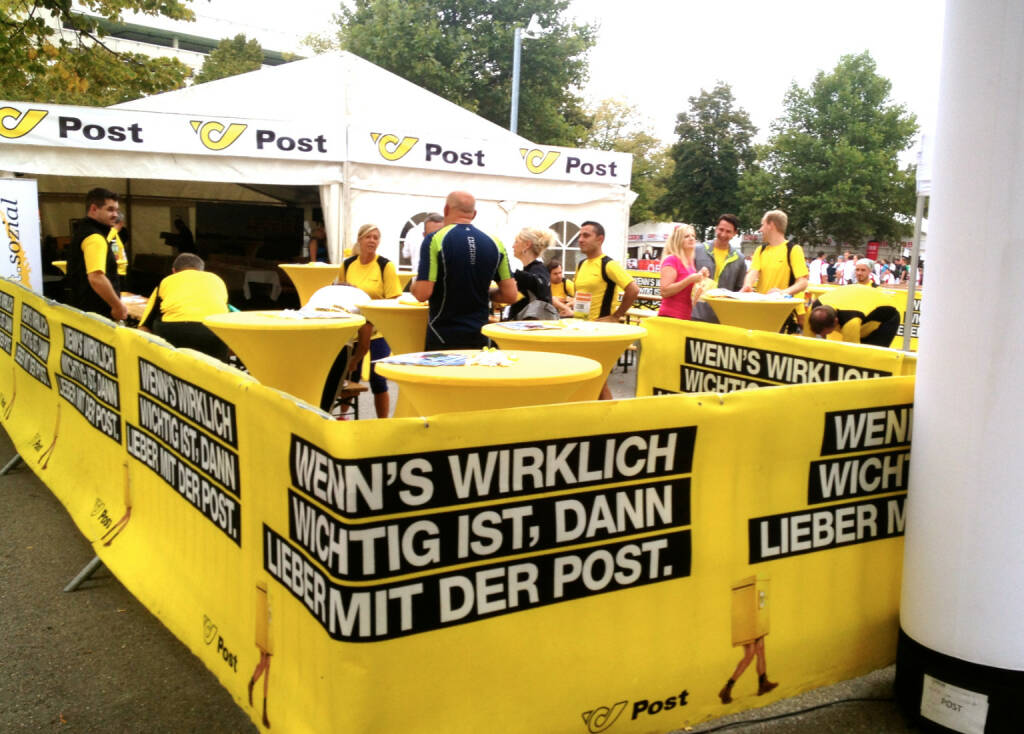Post beim Wien Energie Business Run 2014 (04.09.2014)
