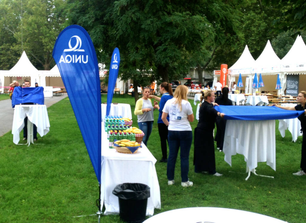 Uniqa beim Wien Energie Business Run 2014 (04.09.2014)
