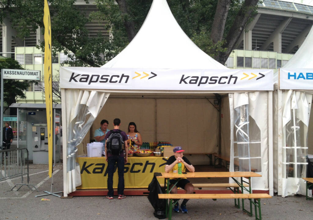 Kapsch beim Wien Energie Business Run 2014 (04.09.2014)