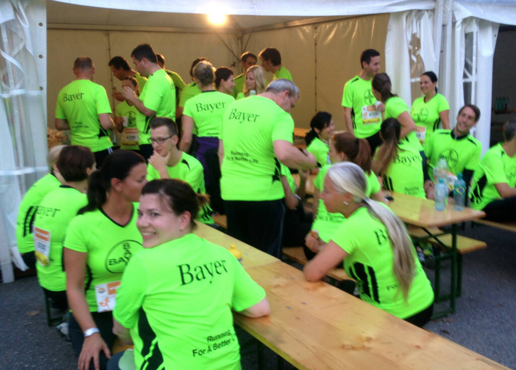 Bayer beim Wien Energie Business Run 2014 (04.09.2014)