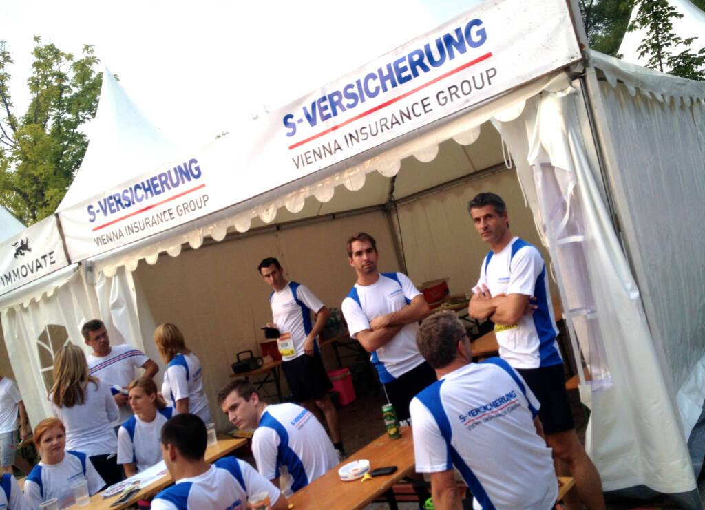 S Versicherung beim Wien Energie Business Run 2014 (04.09.2014)